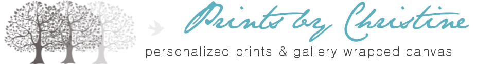 Prints By Christine, Inc. Personalized Gifts